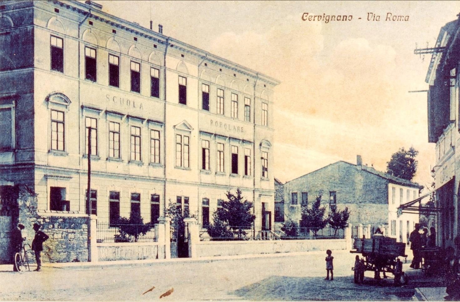 Scuole Cervignano del Friuli - 1914