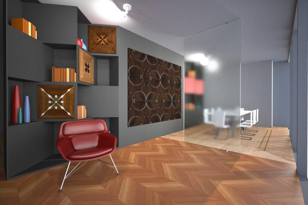 Showroom RIVIR - Foshan - sala riunioni - esposizione